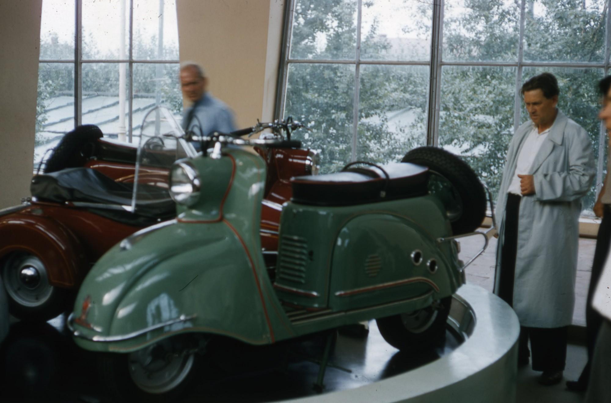 1958 Мотороллер. Хаммонд