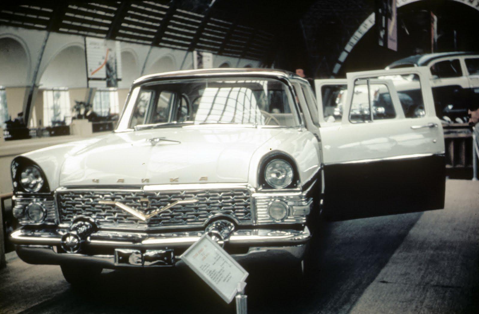 1958 Павильон машиностроение на ВДНХ.  John Shultz