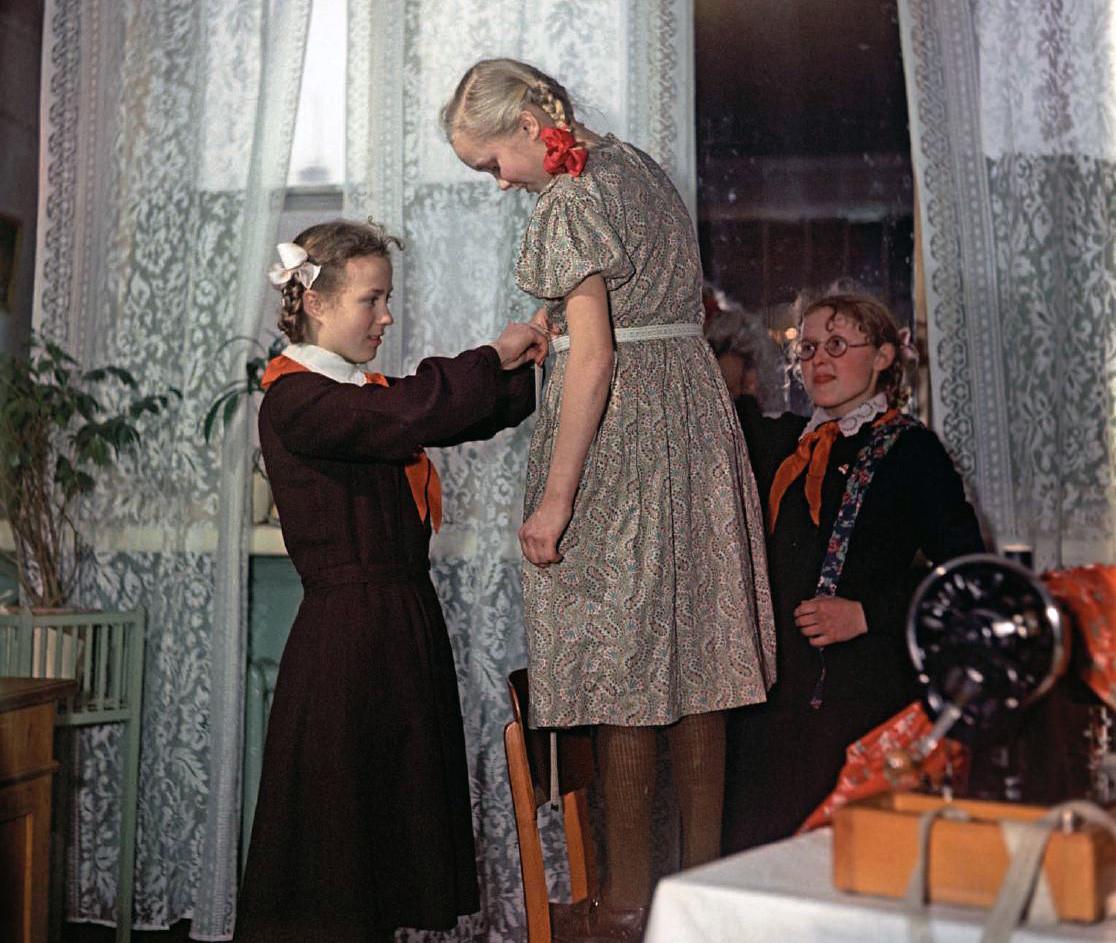 1958 Примерка. Фридлянд, Уткин