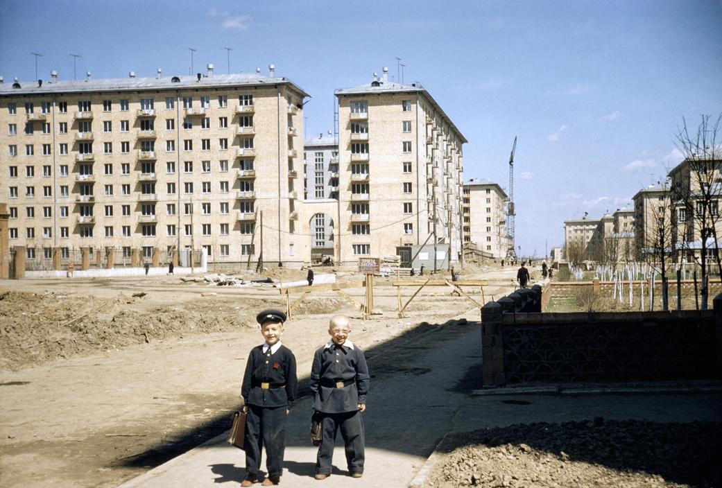 1958 Советские школьники. Erich Lessing