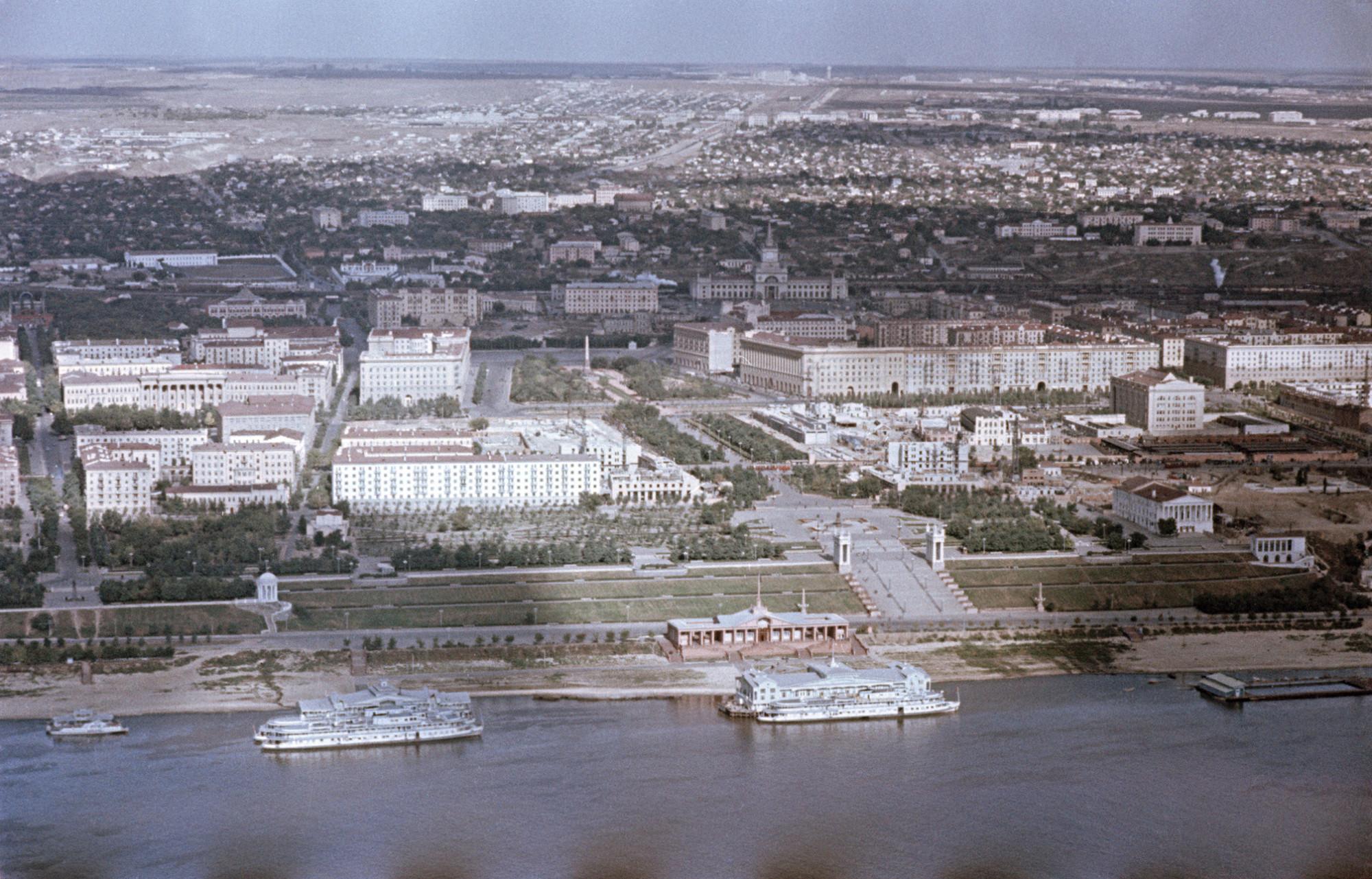 1958 Сталинград. Фридлянд