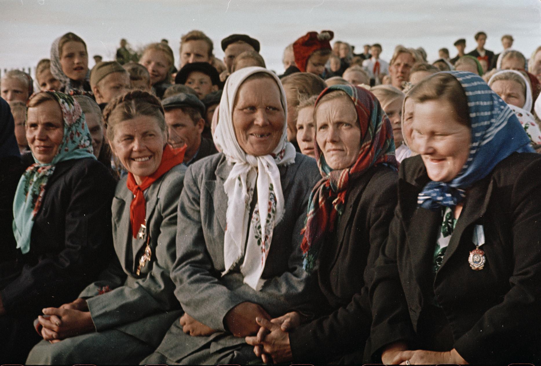 1958 Холмогорские доярки. Фридлянд