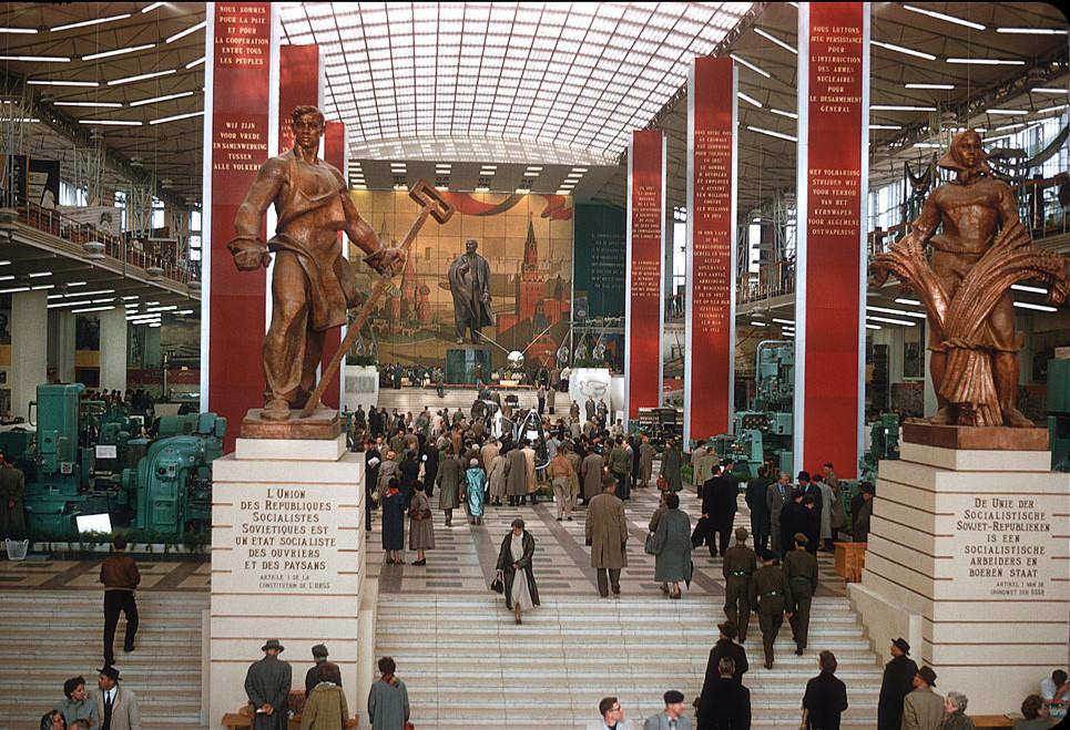 20 век в цвете. СССР 1958 года. Какой была наша страна 60 лет назад