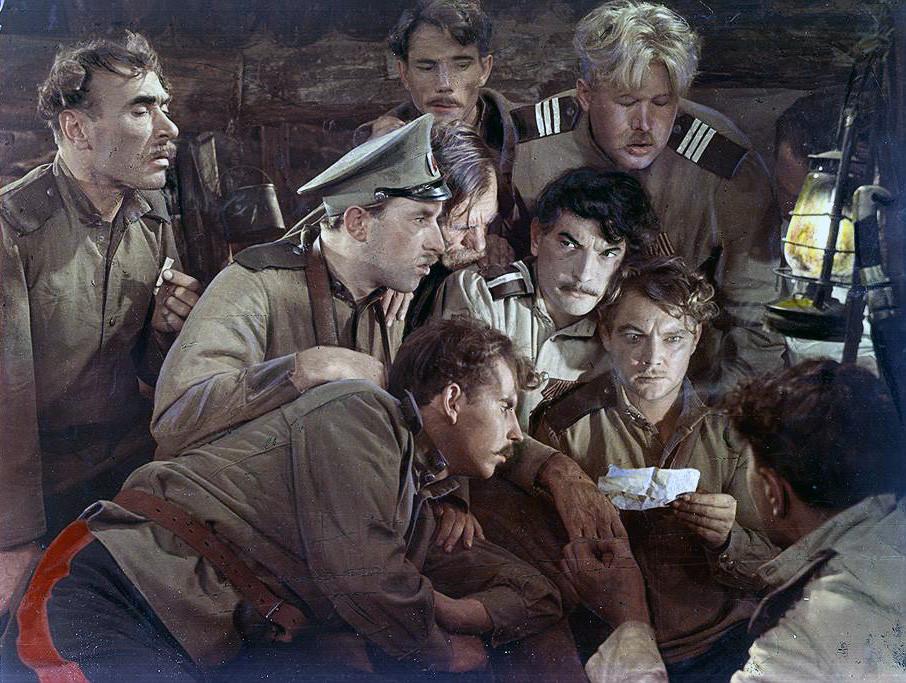 Тихий Дон В прокате 1958 года фильм собрал 47 млн зрителей, заняв первое место