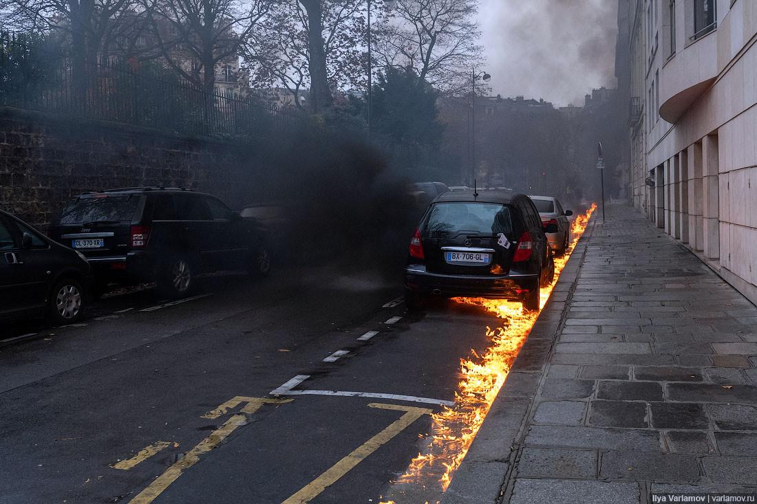 Огненные ручьи Парижа