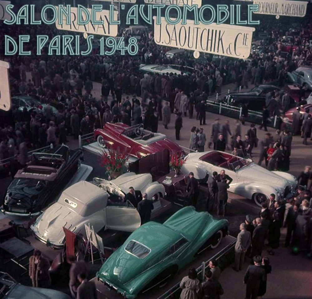 1948 Salon de LAutomobile de Paris