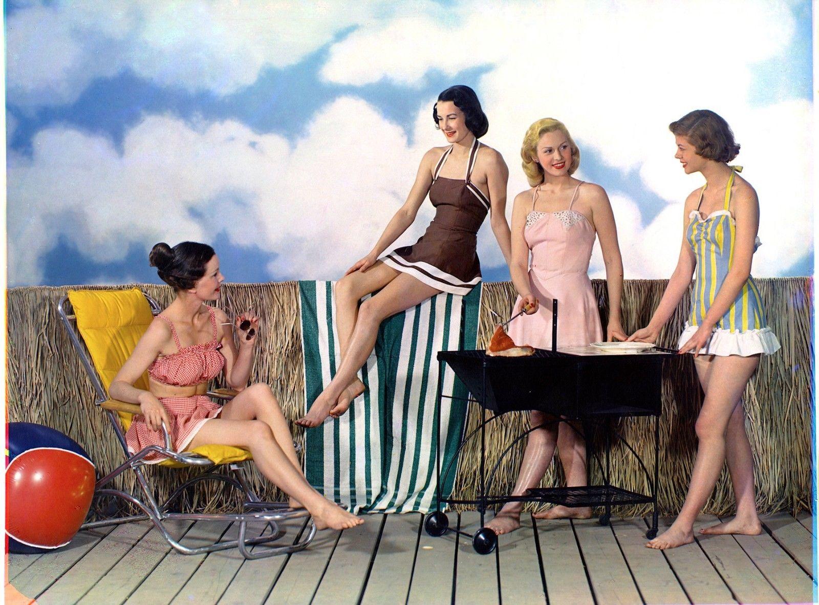 1948 купальник Fashions