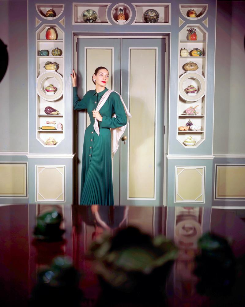 1948 Цветные модные фото Женевьев Нейлор