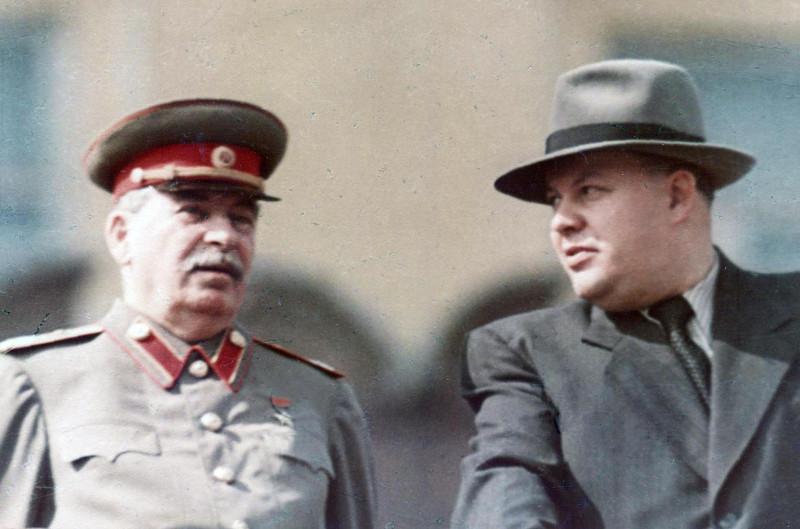 Сталин и Вознесенский Николай Алексеевич