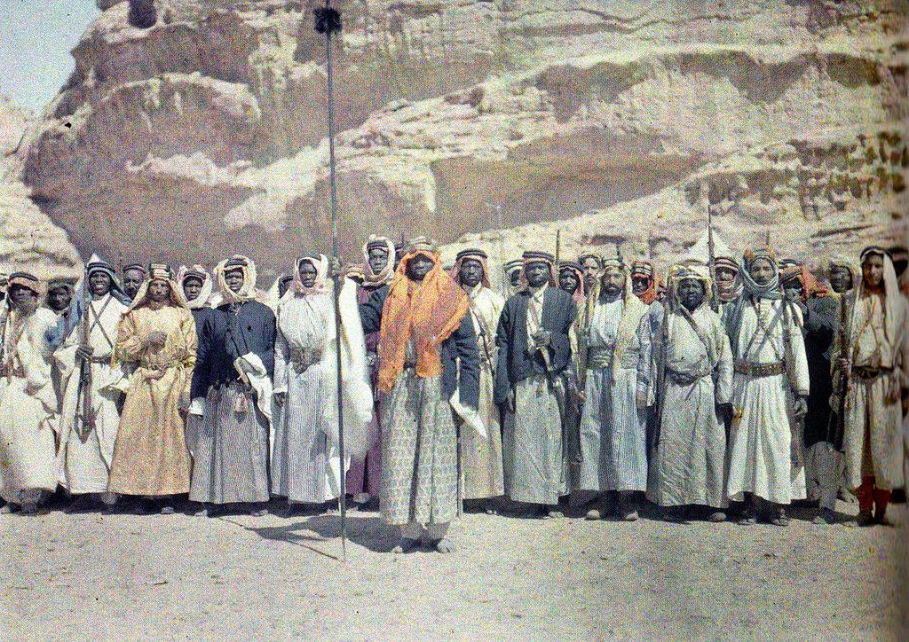 1918 28 февраля в Акабе Иордания фото Поля Кастельно