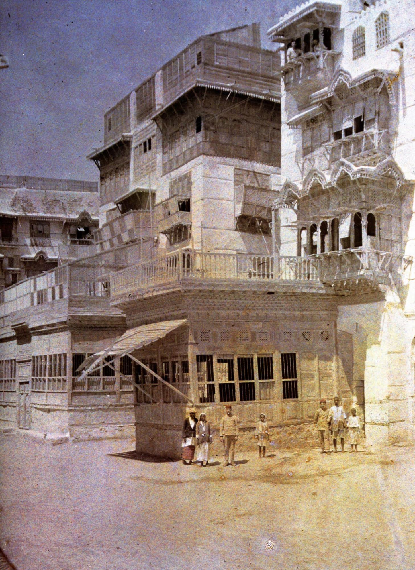 1918 Castelnau Djeddah Arabie