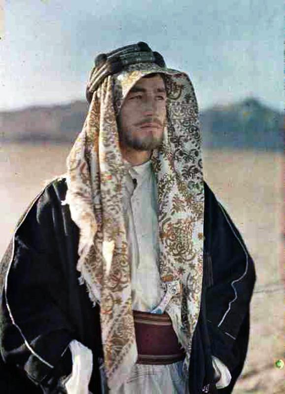 1918 Fayz Bey el Azm соратник Принца Фейсала который возглавил восстание в Аравии при содействии английского агента Лоренса Аравийского г Кувейра фото Поля Кастельно