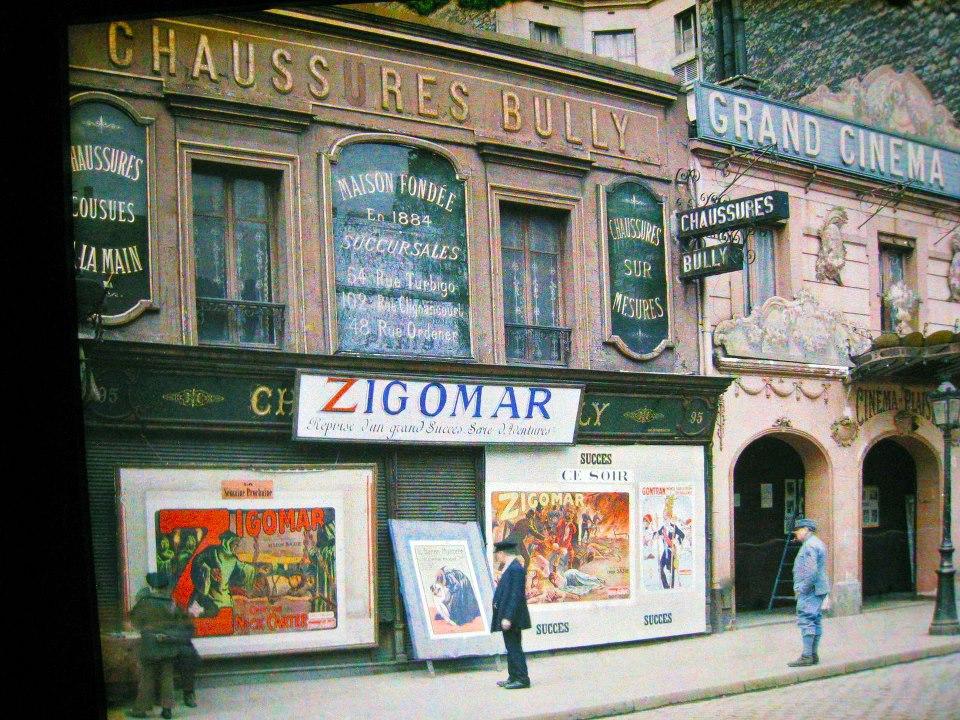 1918 mai 14 Grand Cinema Plaisir 95 rue de la Roquette Auguste Leon