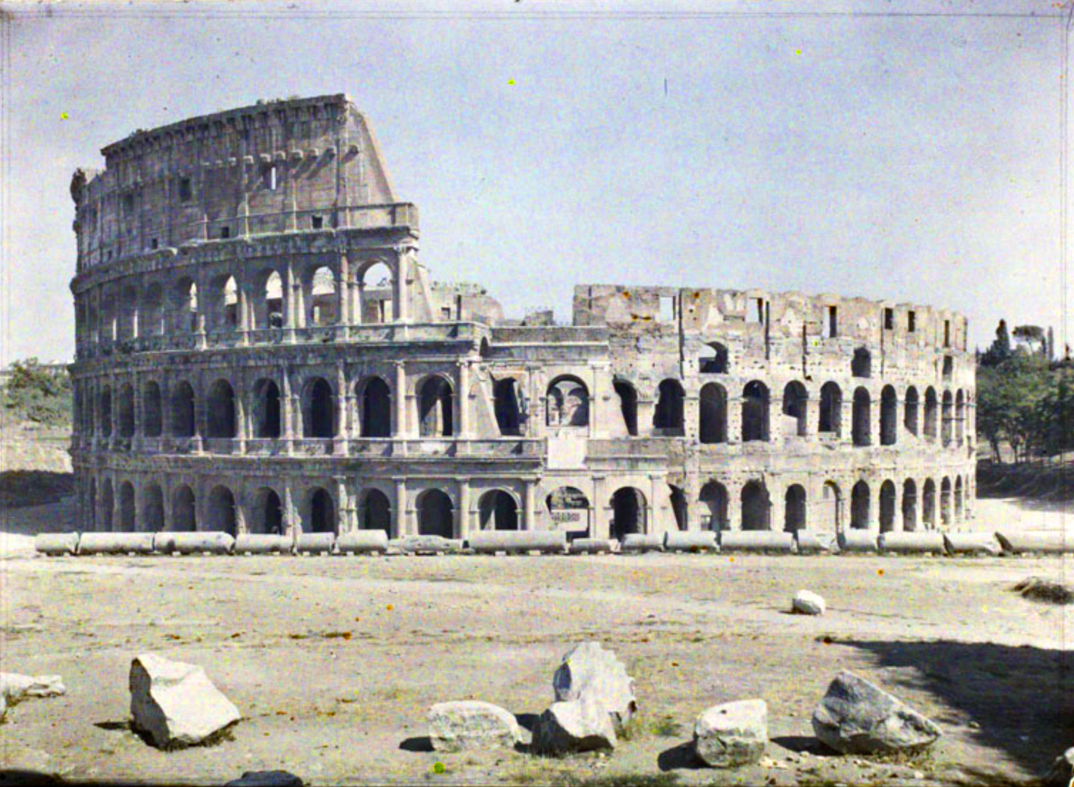 1918 Rome by Fernand Cuville