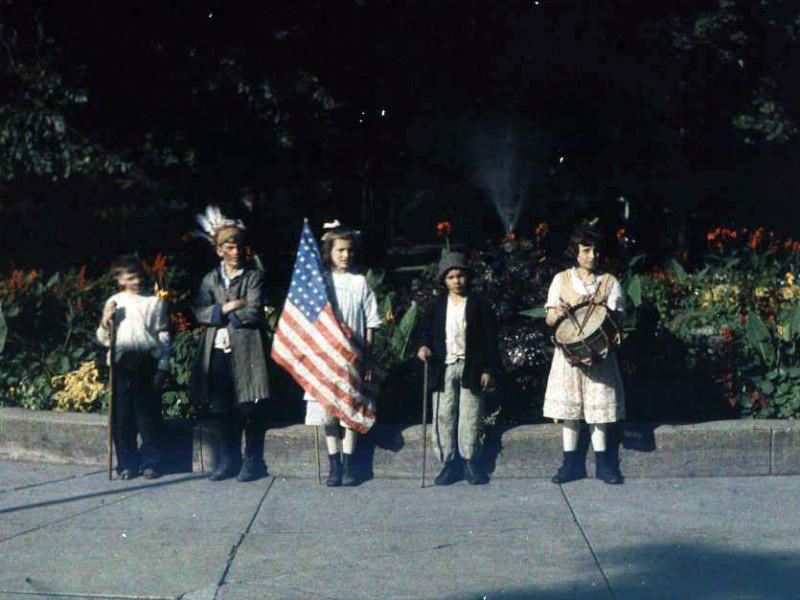 1918 Дети в Jones Park, Charles Zoller