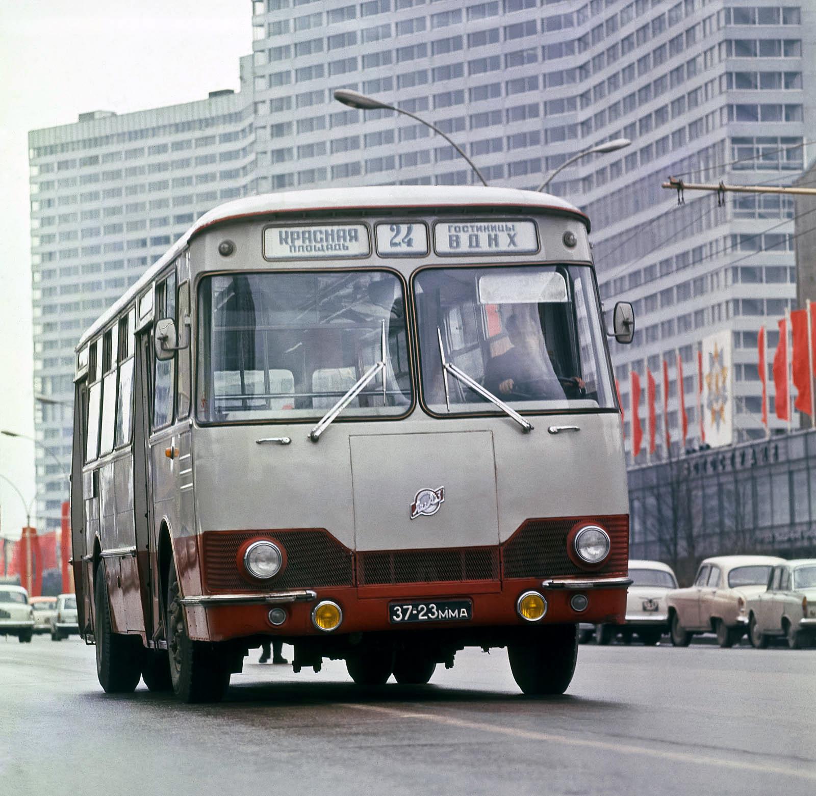1968 ЛиАЗ-677 1968–82