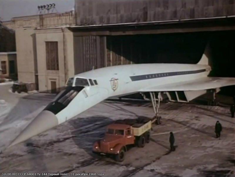 Ту-144 перед первым полетом