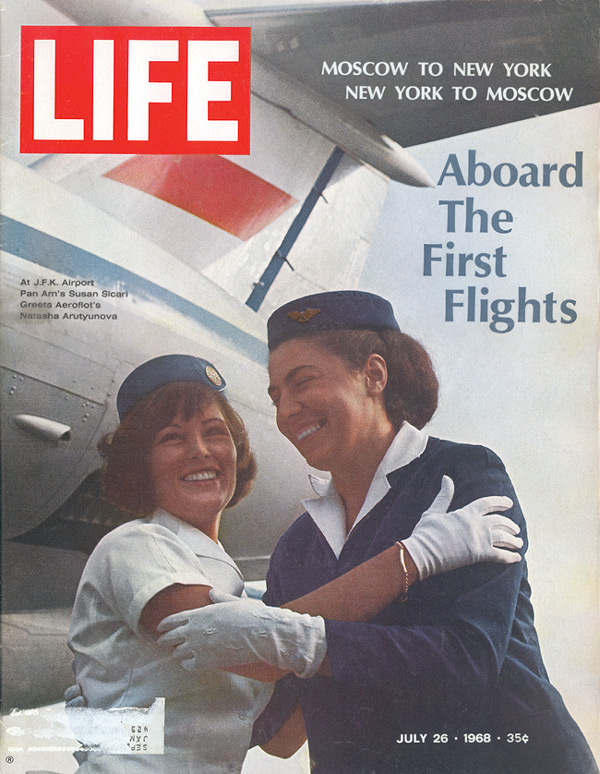 1968 first regular flight US_USSR