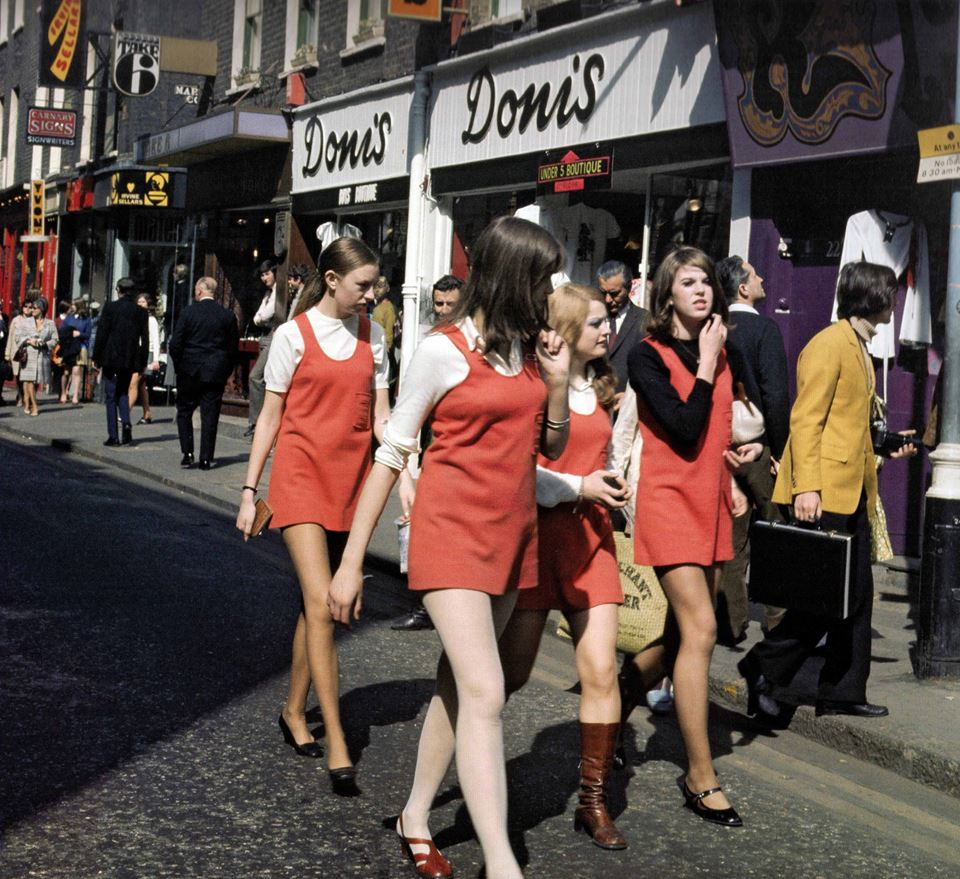 1968 Carnaby Street in London