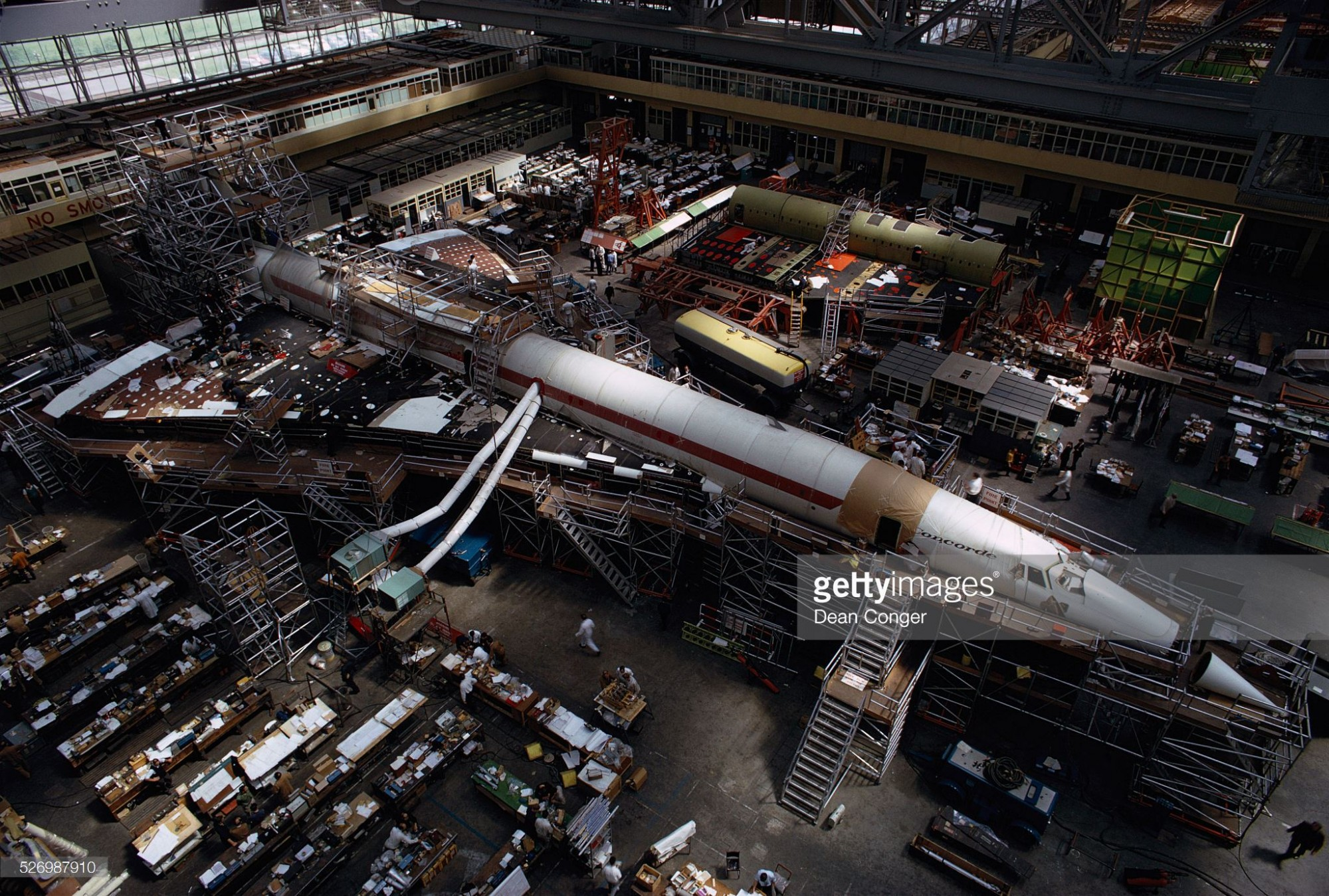 1968 concorde-under-construction-at-the-british-aircraft. Dean Conger