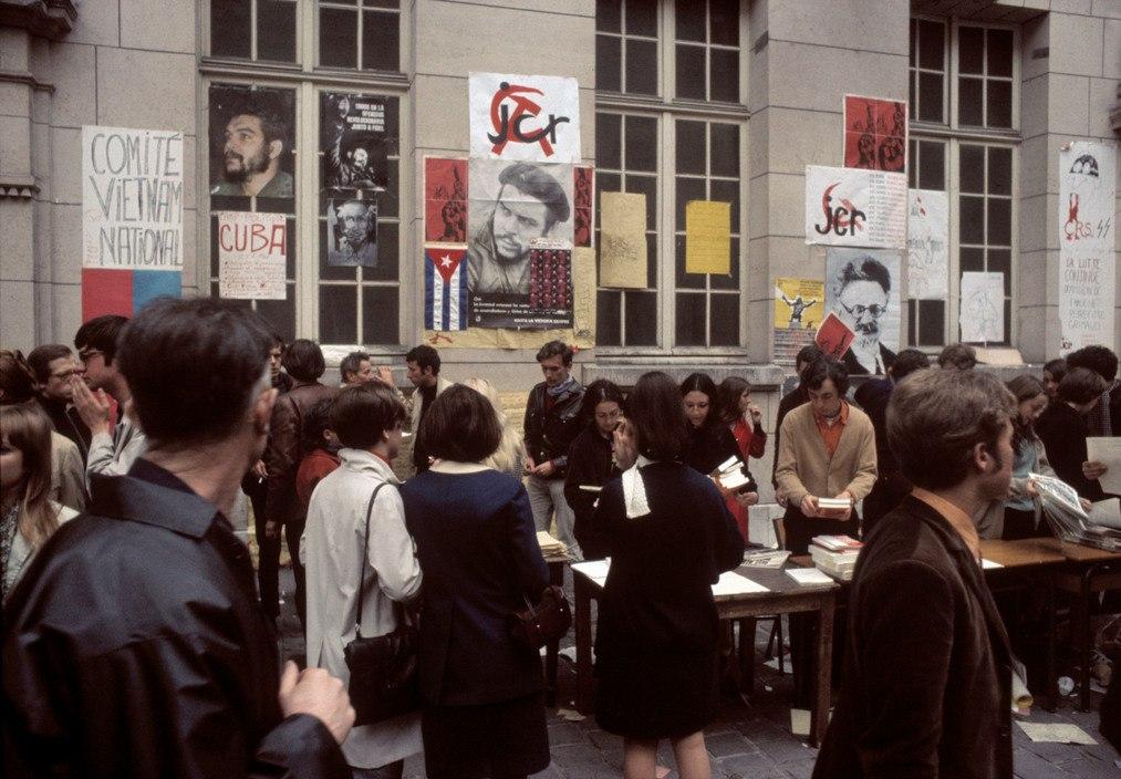 1968 Красный май в Париже в объективе фотографа Бруно Барби8