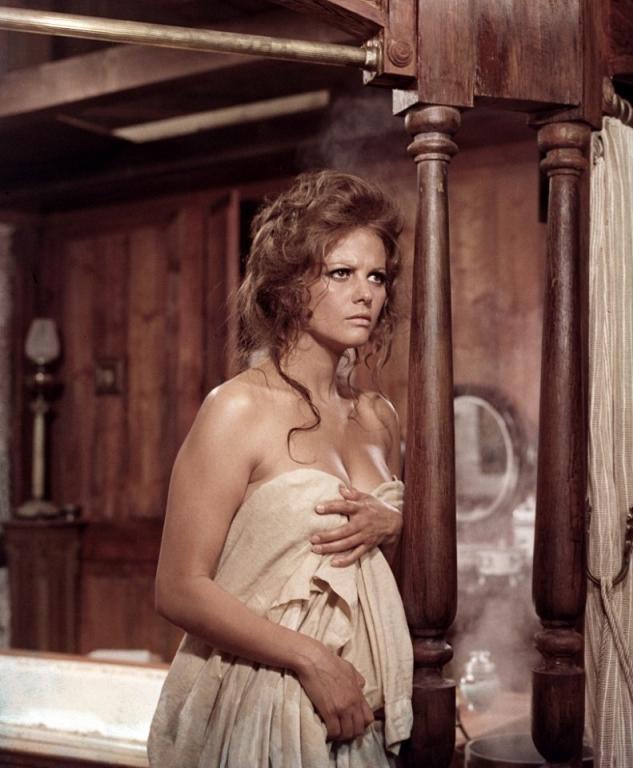 1968 Однажды на диком Западе. Клаудия Кардинале