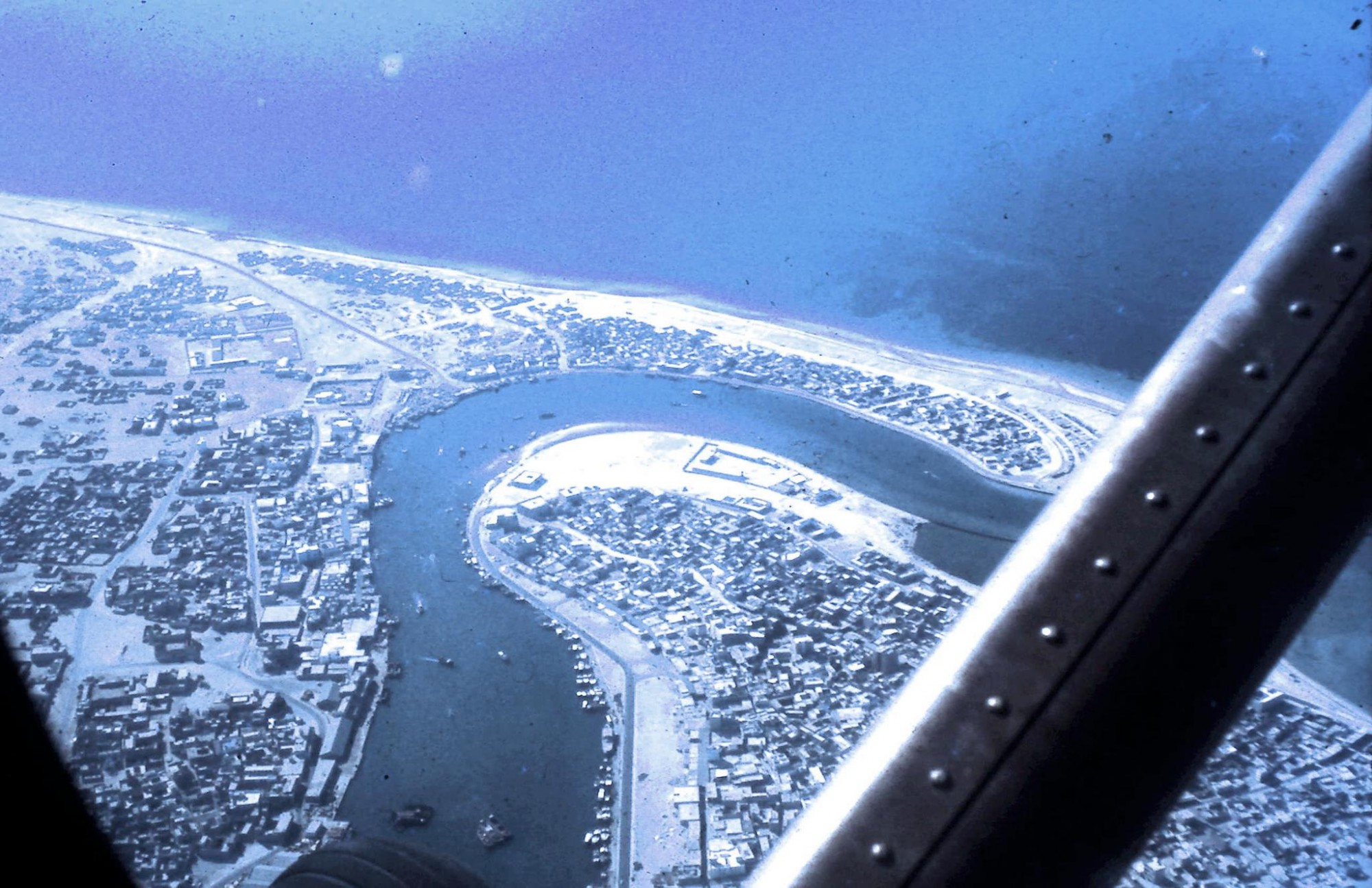 Dubai Creek, April 1968