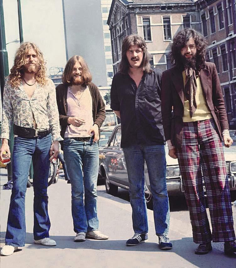 Led Zeppelin Британская рок-группа, образовавшаяся в сентябре 1968 года в Лондоне