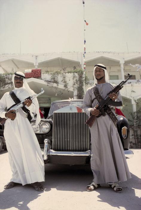 во время конференции эмиров, проходившей в Абу-Даби в 1968-м году