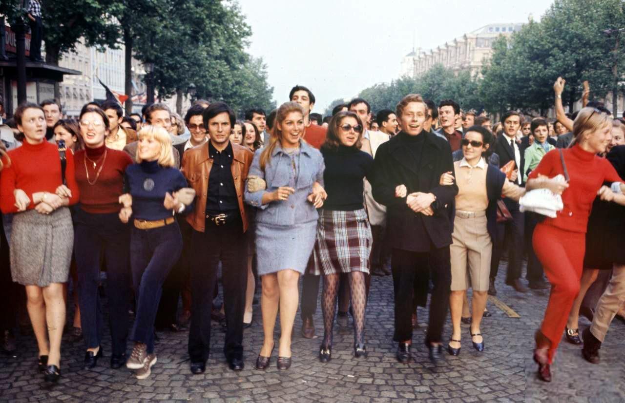1968 Париж, Красный май