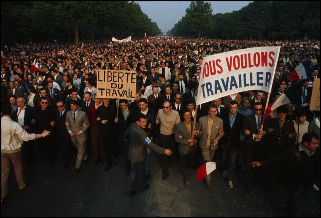 1968 Красный май в Париже в объективе фотографа Бруно Барби3