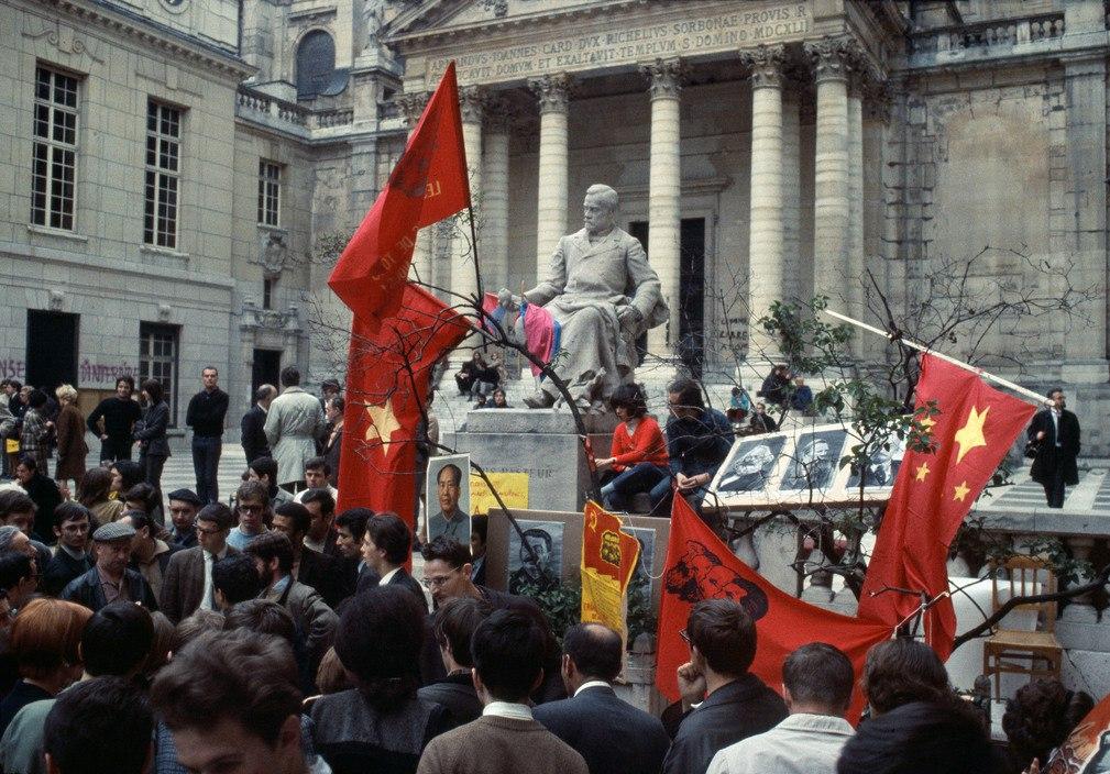 1968 Красный май в Париже в объективе фотографа Бруно Барби4