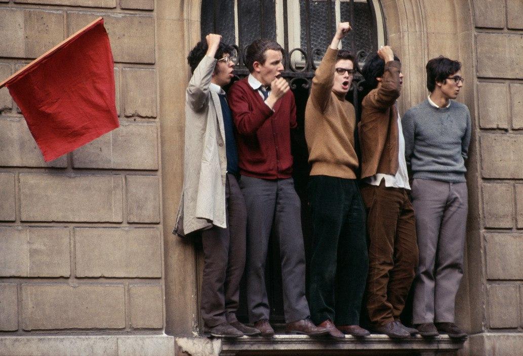 1968 Красный май в Париже в объективе фотографа Бруно Барби5