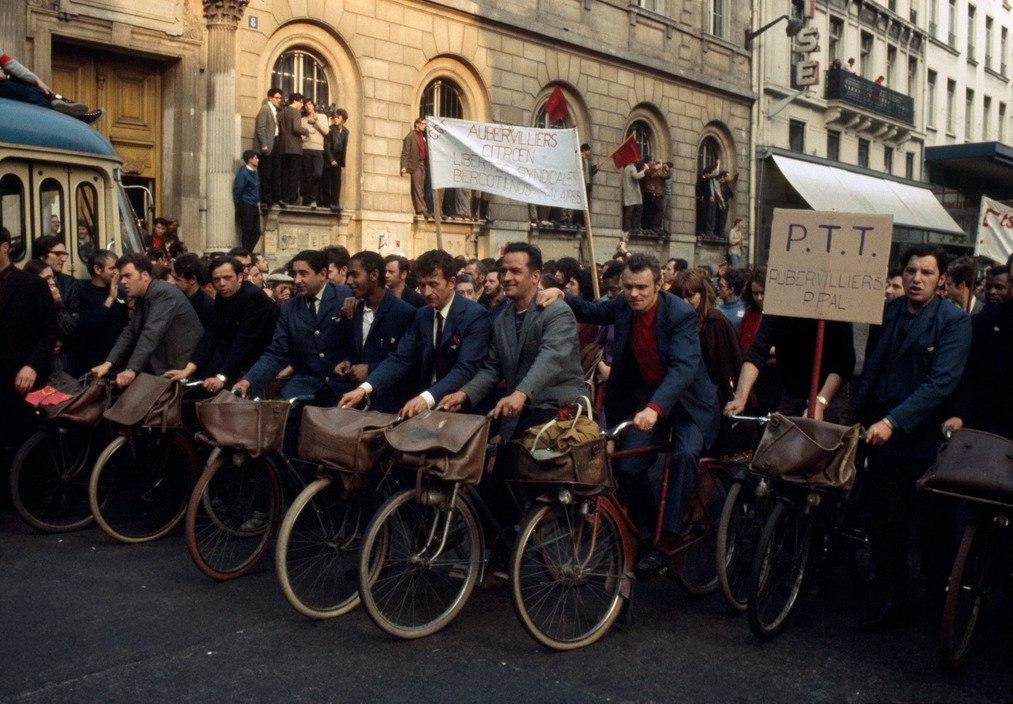 1968 Красный май в Париже в объективе фотографа Бруно Барби6