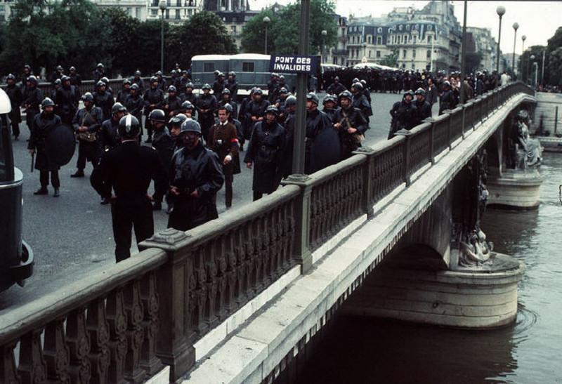1968 Красный май в Париже в объективе фотографа Бруно Барби7
