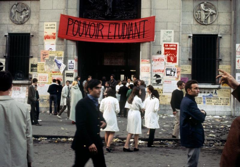 1968 Красный май в Париже в объективе фотографа Бруно Барби10