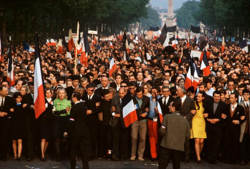 1968 Красный май в Париже в объективе фотографа Бруно Барби11