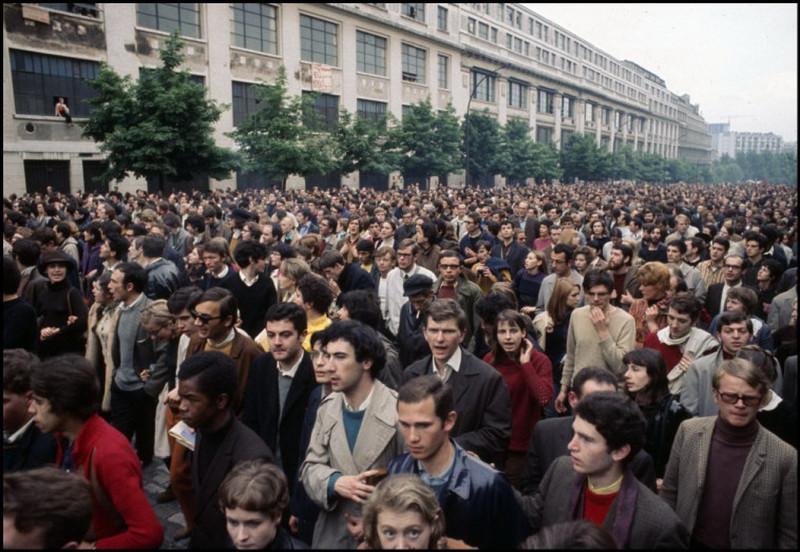 1968 Красный май в Париже в объективе фотографа Бруно Барби12