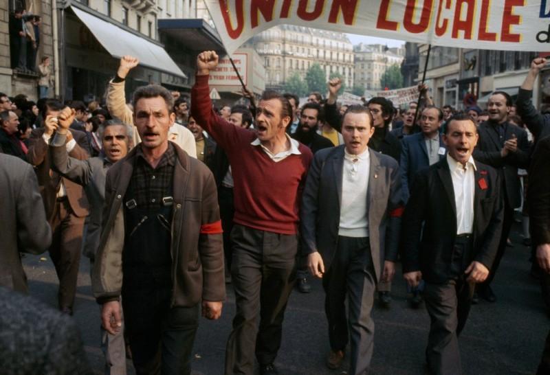 1968 Красный май в Париже в объективе фотографа Бруно Барби14