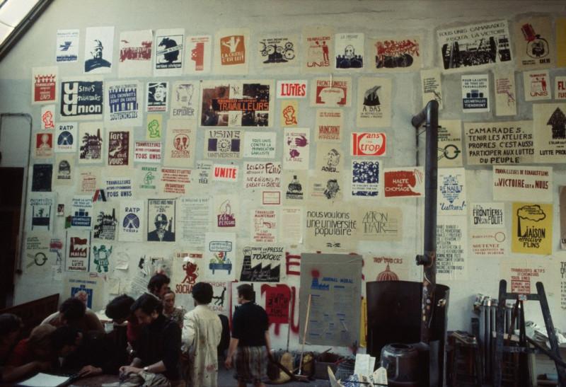1968 Красный май в Париже в объективе фотографа Бруно Барби15