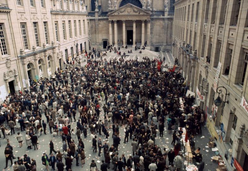 1968 Красный май в Париже в объективе фотографа Бруно Барби16