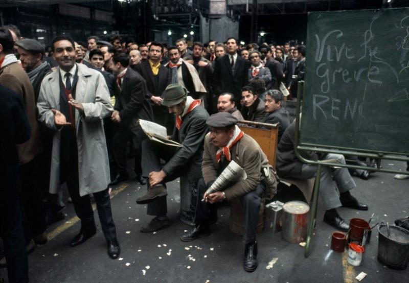 1968 Красный май в Париже в объективе фотографа Бруно Барби17