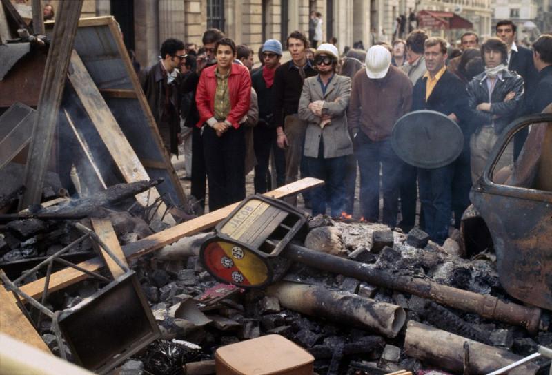 1968 Красный май в Париже в объективе фотографа Бруно Барби18
