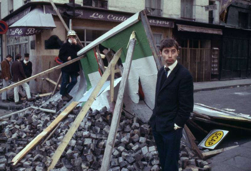 1968 Красный май в Париже в объективе фотографа Бруно Барби19