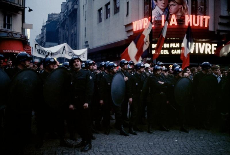1968 Красный май в Париже в объективе фотографа Бруно Барби20