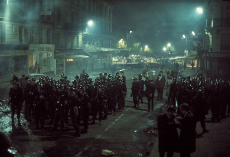 1968 Красный май в Париже в объективе фотографа Бруно Барби21