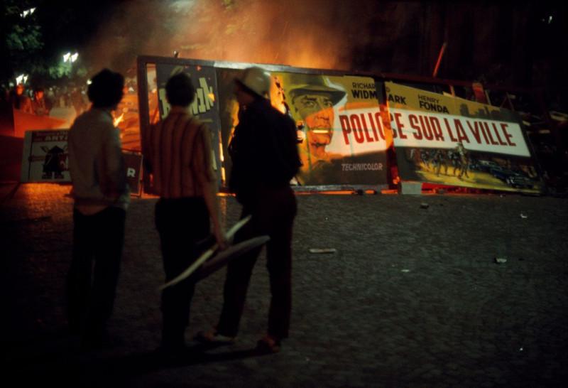 1968 Красный май в Париже в объективе фотографа Бруно Барби23