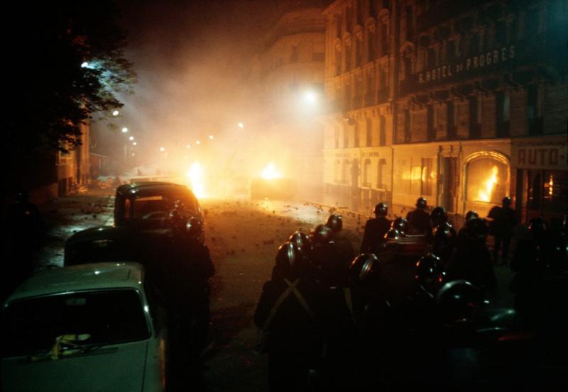 1968 Красный май в Париже в объективе фотографа Бруно Барби24