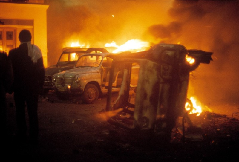 1968 Красный май в Париже в объективе фотографа Бруно Барби27