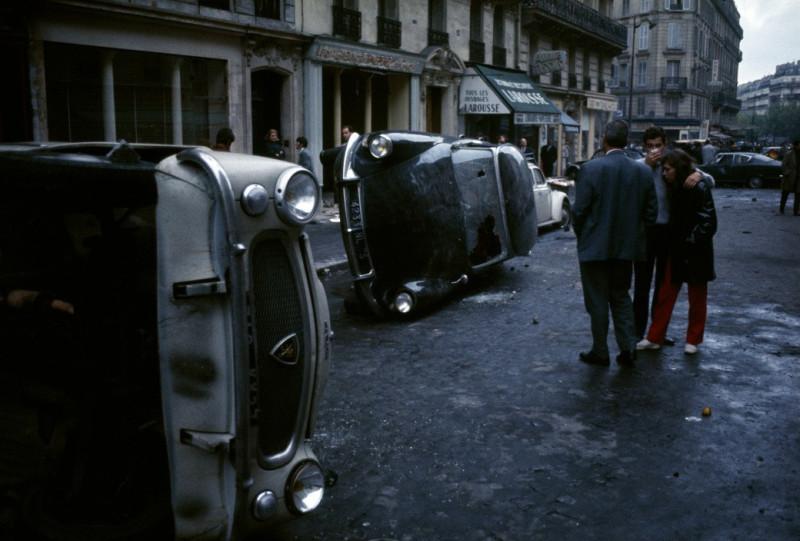 1968 Красный май в Париже в объективе фотографа Бруно Барби32